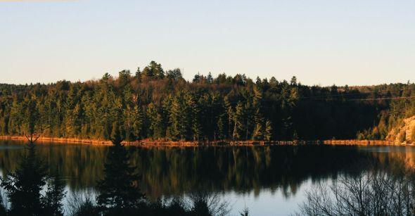 Sunset on Horne Lake 2